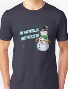 Frozen Snowballs Unisex T-Shirt