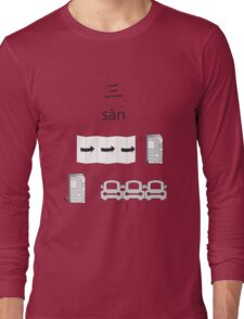 Three Long Sleeve T-Shirt
