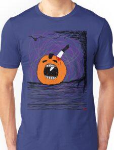 """ psychotic break Pumpkin Carving""  Halloween Tia Knight Unisex T-Shirt"