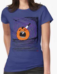 """ psychotic break Pumpkin Carving""  Halloween Tia Knight T-Shirt"