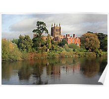 Hereford on Wye Poster