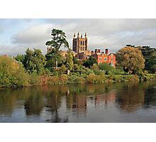 Hereford on Wye Photographic Print