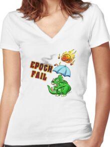Epoch Fail Women's Fitted V-Neck T-Shirt