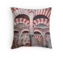 Grand Mosque, Cordoba, Spain Throw Pillow