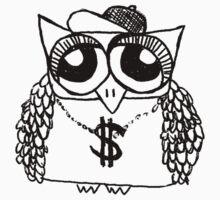 Gangster Owl by annieclayton