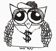 Gangster Owl Kids Clothes
