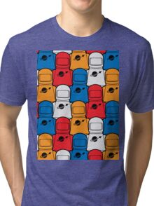 Classic Space Party Tri-blend T-Shirt