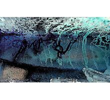 Ice abstract Photographic Print