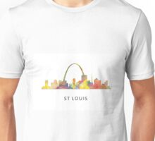 St Louis, Missouri Skyline WB1 Unisex T-Shirt