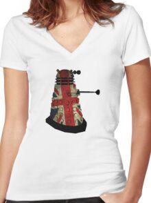 Dalek - Doctor Who Women's Fitted V-Neck T-Shirt
