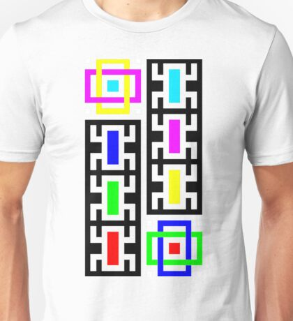 creepy crawly colorful critters Unisex T-Shirt