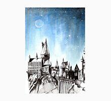 Hogwarts Castle - Constellations and Stars - Luna Unisex T-Shirt