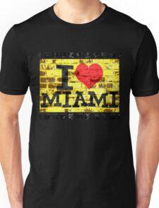 I love Miami - Vintage Miami Unisex T-Shirt