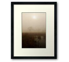 Marshlands  Framed Print