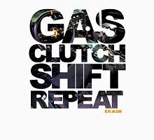 Gas Clutch Shift Repeat Unisex T-Shirt