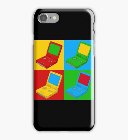Game Boy Pop Art iPhone Case/Skin