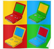 Game Boy Pop Art Poster
