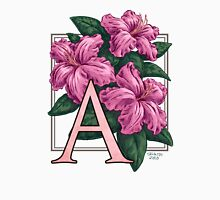 A is for Azalea Womens Fitted T-Shirt