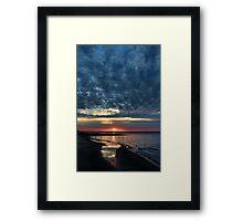 Shining Sands Framed Print