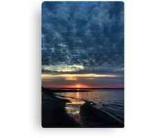 Shining Sands Canvas Print