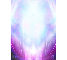 Violet Flame  Photographic Print