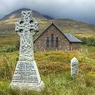 The Church By Torridon by Jamie  Green