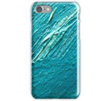 blu oil texture cases iPhone Case/Skin