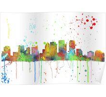 Tampa, Florida skyline Poster