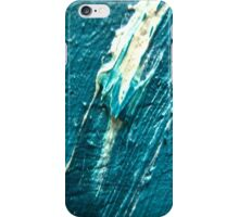 white on blu (texture) nude iPhone Case/Skin