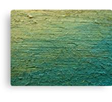 yellow blue oil Canvas Print
