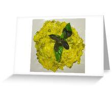 saffron rice Greeting Card