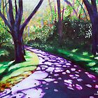 'THE TRAIL AROUND BASS LAKE #1' by Jerry Kirk