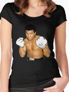 Cartoon Ali Women's Fitted Scoop T-Shirt