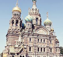 Church on the Saviour - St Petersburg Russia by Alyssa Passlow