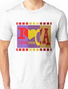 I love California - Pop Art Unisex T-Shirt
