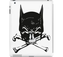 Batman and bones iPad Case/Skin
