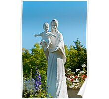 Saint Mary with Jesus Poster