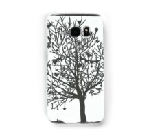 Tree of abundance Paper cut Samsung Galaxy Case/Skin