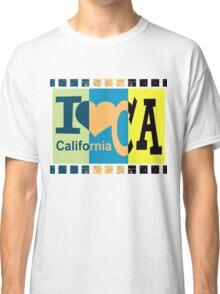 I love California - Pop Art 2 Classic T-Shirt