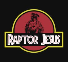 Raptor Jesus Jurassic Park Mashup by portispolitics