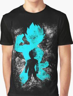 super saiyan blue vegeta grunge Graphic T-Shirt