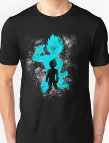 super saiyan blue vegeta grunge T-Shirt