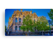 The Law Courts Building and Old Town Hall - Bendigo Canvas Print