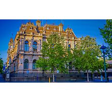 The Law Courts Building and Old Town Hall - Bendigo Photographic Print