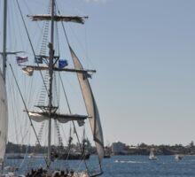 Tall Ships Departure, Fleet Review, Manly, Australia 2013 Sticker