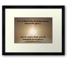 """2 Corinthians 3:1"" by Carter L. Shepard Framed Print"