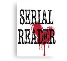 Serial Reader Canvas Print