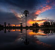 The reflex Sunset by arthit somsakul