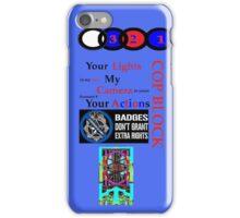 Cop Block org iPhone cover iPhone Case/Skin