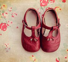 Old Red Shoes by Catherine  Regan